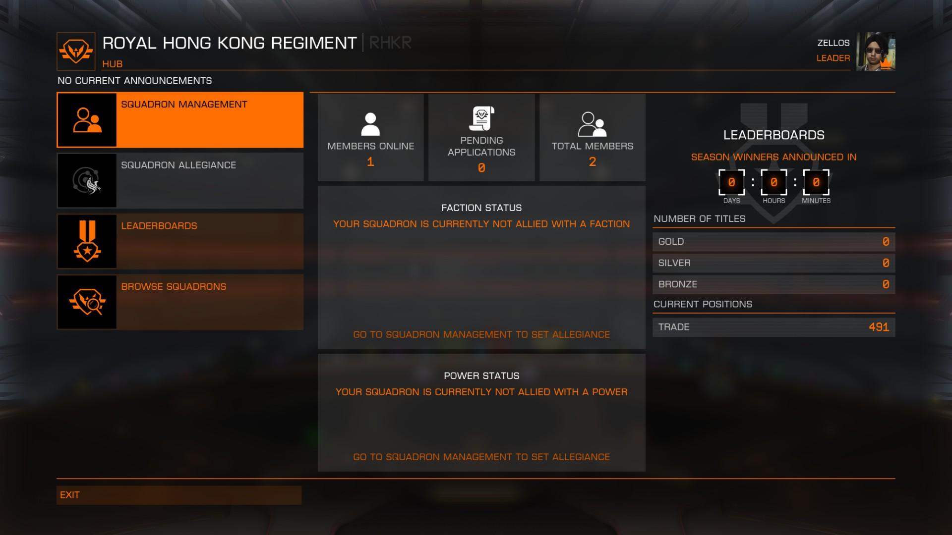 [Elite: Dangerous] 香港人公會 RHKR